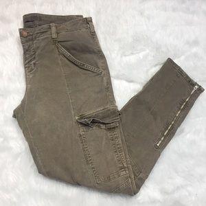 J Brand Houlihan twill cargo skinny pants Sz 30